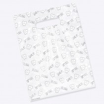 Tooth Scatter Print Bags
