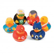 Superhero Rubber Ducks
