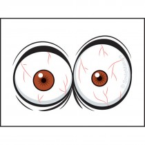 Eyeball Temporary Tattoos