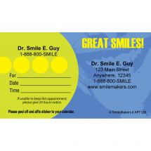 Custom Great Smiles Appointment Cards