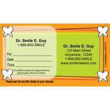 Custom Tooth Frame Appointment Cards