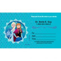 Disney Frozen Appointment Cards