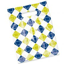 Scatter Print Tooth checkers Bags