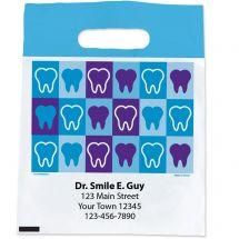 Custom Teeth Block Bags