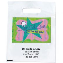 Custom Congratulations New Smile Bags