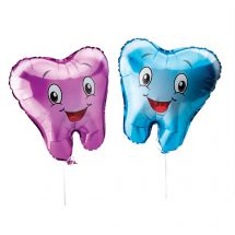 Tooth Shaped Foil Balloons