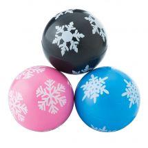 30mm Snowflake Bouncing Balls