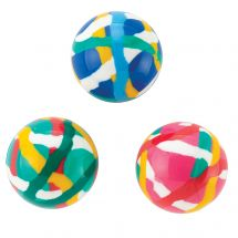 30mm Colourful Doodle Bouncing Balls