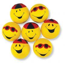 Goofy Smiley Face Stress Balls
