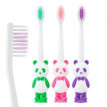 SmileCare Toddler Panda Bear Toothbrushes