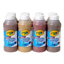 8 Ct. Crayola® Washable Multicolour Paint