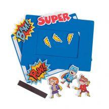 Superhero Picture Frame Craft Kits