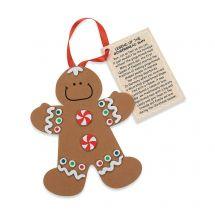 Gingerbread Man Ornament Craft Kits