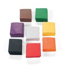 Fall Mini Tissue Paper Squares