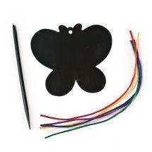 Colourful Magic Scratch Butterflies