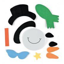 Snowman in Sunglasses Magnet Craft Kits