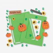Pumpkin Patch Magnetic Picture Frame