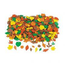Self-Adhesive Fall Leaf Shapes