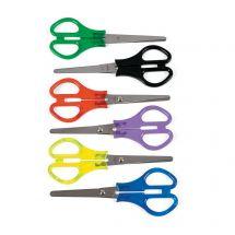 Transparent Handle School Scissors
