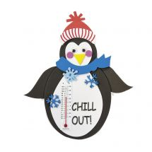 Penguin Thermometer Magnet Craft Kits