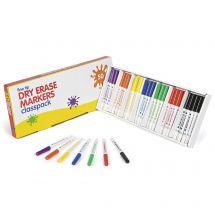 Fine Tip Dry Erase Markers Classpack