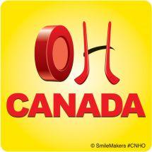 OH, CANADA HOCKEY STICKERS