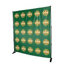 8' x 8' Full Colour Backdrop Banner - No Kit