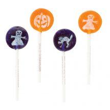 Halloween Tongue Tattoo Lollipops