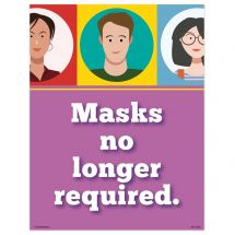 Mask-Free Smiling Faces Wall Decal