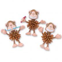 Brush, Floss, Smile Spike Monkeys