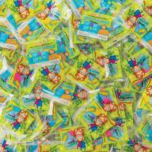 500 Brush Floss Smile Monkey Bulk Single Pack Dental Flossers