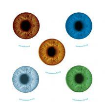 Glow in the Dark Eyes Stickers