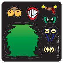 Make-Your-Own Monster Stickers