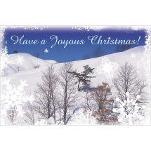 Joyous Christmas Greeting Cards