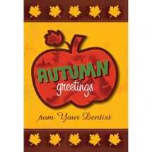 Autumn Greetings Pumpkin Greeting Cards