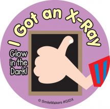 Glow in the Dark Cute X-Ray Stickers