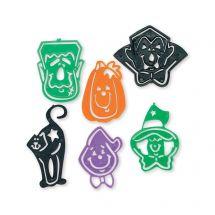 Halloween Stencil Bookmarks