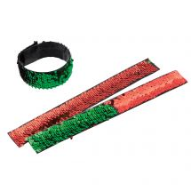 Christmas Reversible Sequin Slap Brac