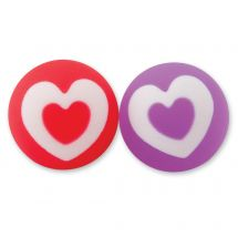 30mm Valentine's Day Heart Bouncing Balls