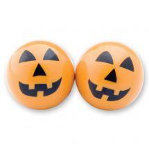 35mm Halloween Pumpkin Bouncing Balls