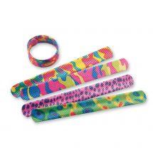 Glitter Slap Bracelets