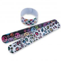 Wild Pattern Slap Bracelets