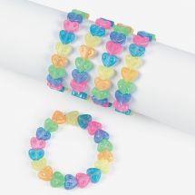 Rainbow Love Bracelets