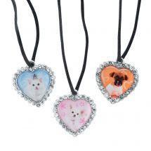 Rachel Hale Jewel Heart Necklaces