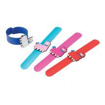 3D Llama Slap Bracelets