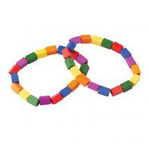 Colour Block Bracelets
