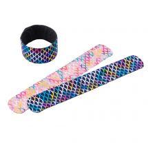 Mermaid Shimmer Slap Bracelets