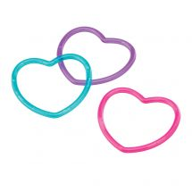 Heart Plastic Bracelets