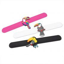 Tropical Bird Slap Bracelets
