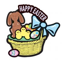 Make-Your-Own Easter Basket Stickers